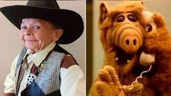Michu, el actor que se metía dentro del cuerpo del muñeco Alf.