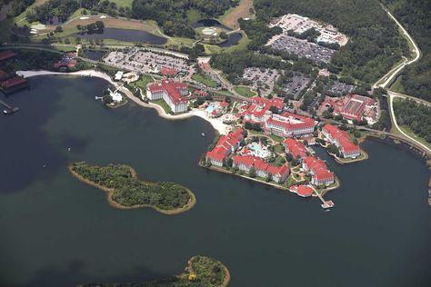 La zona de la playa del hotel de la Walt Disney World Resort. Foto: AFP