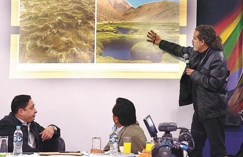 Las autoridades dieron los pormenores sobre el Silala y el juicio que inició Chile.