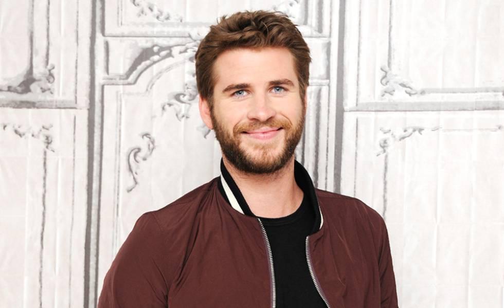 Liam Hemsworth, en los estudios AOL en Nueva York.