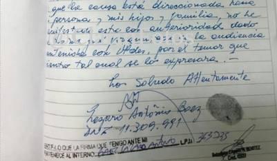 En una carta a la Cámara, Báez dijo que vio a Casanello en Olivos.