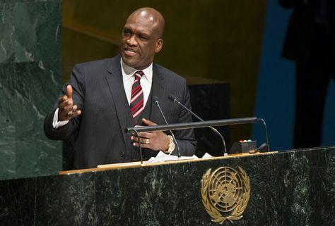 El ex presidente de la ONU, John Ashe. Foto: www.abcradioqro.com
