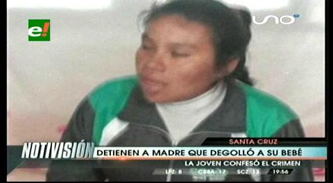 Infanticidio en Camiri. Joven admite que mató a su bebé, dice que por temor a su padre
