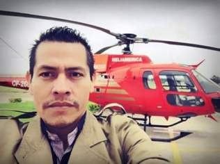 PROFESIONAL. Jharly Mendez, director de Group One Films estará a cargo de la coproducción de este proyecto