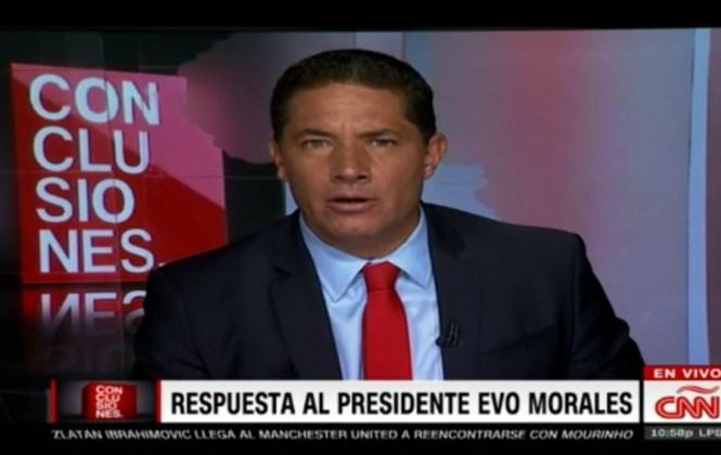 CNN dice que no emitió nota del supuesto hijo de Evo porque no confirmó ni descartó su existencia