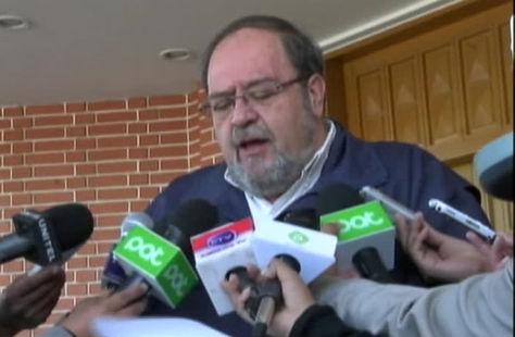 El ministro de Educación, Roberto Aguilar
