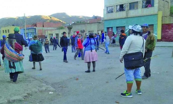 Retorna la violencia a Cotagaita tras nueva elección de alcalde