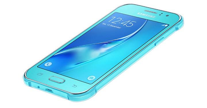 Samsung Galaxy J1 Ace Neo de color azul