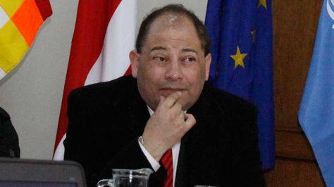 El ministro de Gobierno, Carlos Romero.