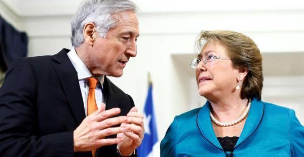 Heraldo Muñoz y Michelle Bachelet