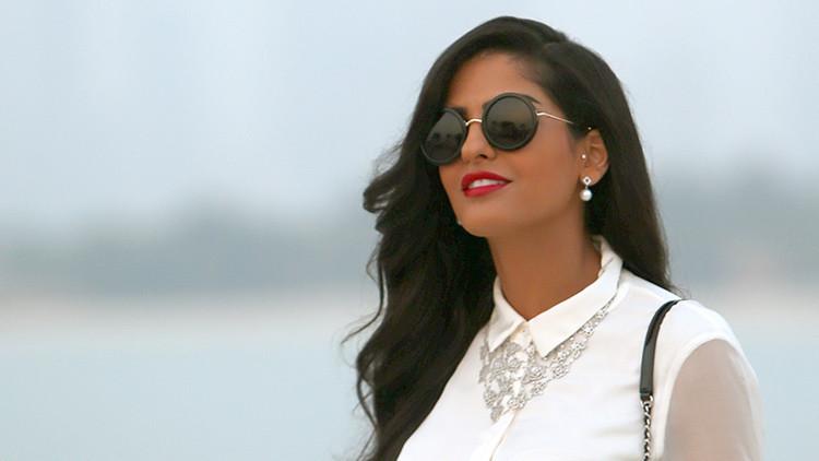 La princesa saudí Ameera al Taweel llega a la presentación de la colección Chanel 2015 Cruise