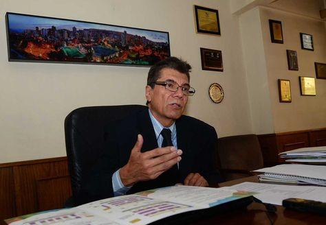 El presidente de la Federación de Empresarios Privados de La Paz, Javier Calderón. Foto: La Razón