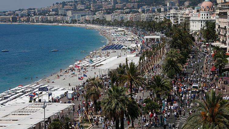 Paseo de los Ingleses de Niza