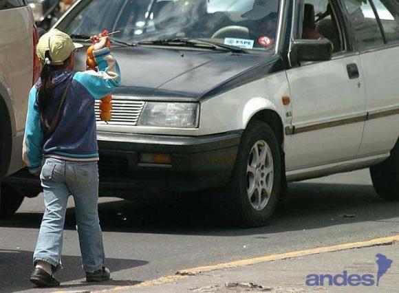 Mendicidad y trabajo infantil