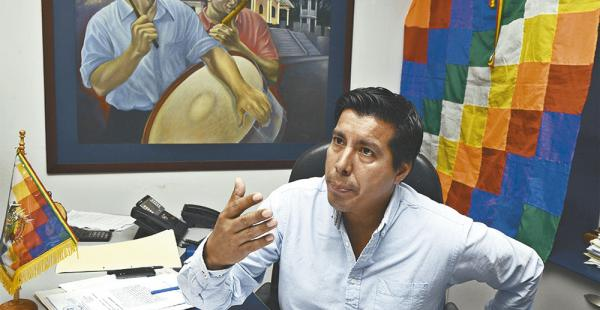 Jaime Cabrera, durante uno de sus cortos periodos como alcalde
