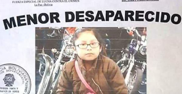 La menor es buscada desesperadamente por sus padres y las redes sociales hacen eco del pedido de ayuda.