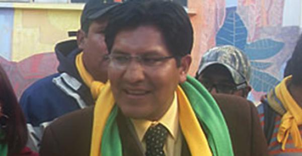 El abogado Rime Choquehuanca