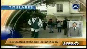 Titulares de TV: Médicos del país se movilizan exigiendo que a sus colegas no los traten como a delincuentes