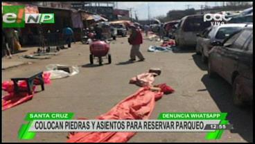 Comerciantes se adueñan de las calles en El Abasto