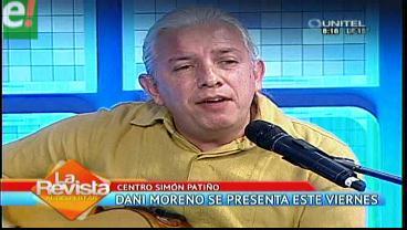 Dani Moreno muestra su lado solidario en concierto gratuito