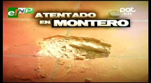 Montero: Detonan otro explosivo en casa del Gerente del SIN
