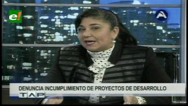 Alcaldesa de Guayaramerín pide que se cumpla proyectos
