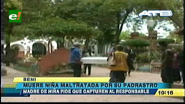 Beni: Muere niña que fue golpeada por su padrastro