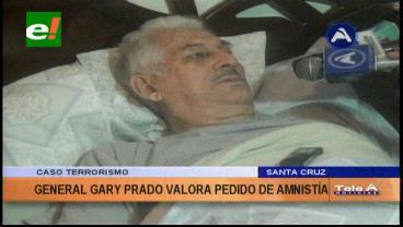 """General Prado valora el pedido de amnistía y dice que las autoridades cruceñas """"brillan por su ausencia"""""""