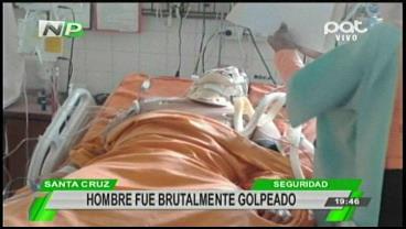Hombre queda en coma tras recibir una brutal golpiza