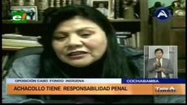 Piérola: Achocollo tiene responsabilidad penal en el caso Fondioc