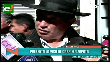 Según el diputado Quispe, Quintana habría facilitado a Zapata una visa a EEUU