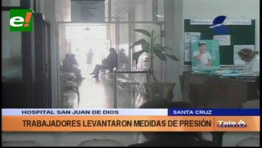 Santa Cruz: Atención en el Hospital San Juan de Dios se normaliza