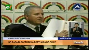 """Bolivia instruye no pagar facturas con incremento """"unilateral"""" de tarifas portuarias en Arica"""