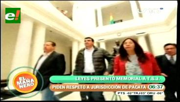 Leyes pide al TSJ resguardar infraestructuras municipales en Pacata