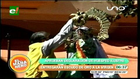 Condecorarán a Virgen de Urkupiña en su peregrinaje por Cercado