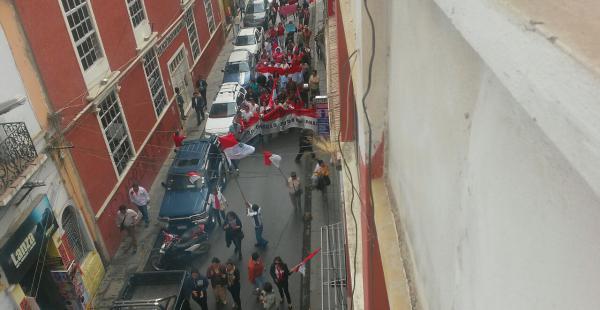 Imágenes de la marcha que se realizó en Tarija este sábado