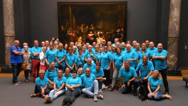 Los voluntarios de la ONG. Fotos: Stichting Ambulance Wens