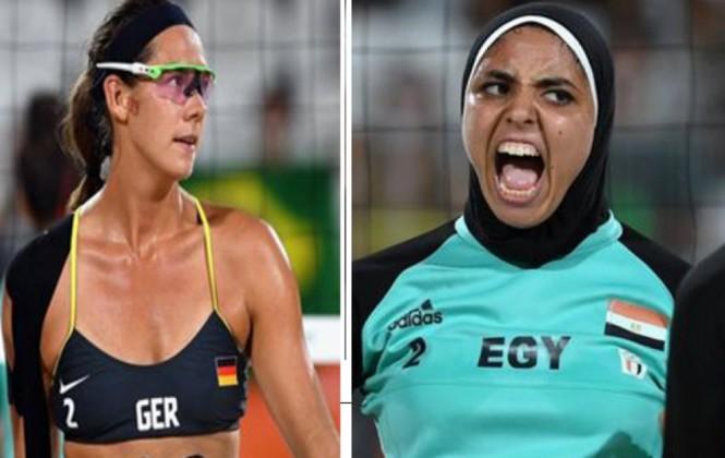 Río 2016: El vóley de playa femenino muestra la diversidad cultural en la cita olímpica