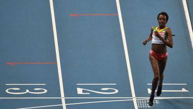 La atleta etíope Tirunesh Dibaba (ANTONIN THUILLIER/AFP/Getty Images).