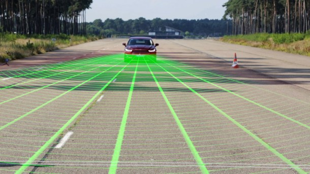 Ford Pre-Collision Assist with Pedestrian Detection Technology