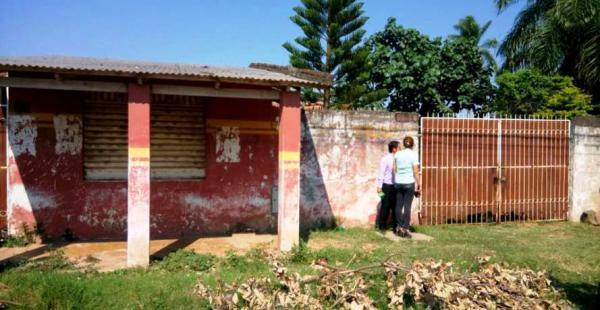 Este es el inmueble donde fue encontrada sin vida Evelyn Pacheco León