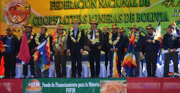 Gustavo Pedraza alianza minera cooperativista