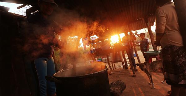 En Taputá, los guaraníes se preparan para recibir a unas 800 personas, entre electores, observadores y curiosos, que llegarán hoy para la primera elección por usos y costumbres