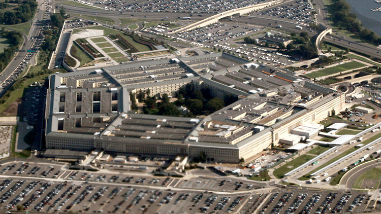 El Pentágono, sede del Departamento de Defensa de EE.UU.