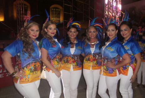 Las damas de los Chabacos