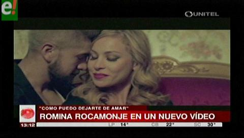 Romina Rocamonje y Mister T juntos en un videoclip