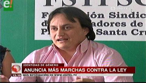 Anuncian más marchas contra la Ley de Identidad de Género