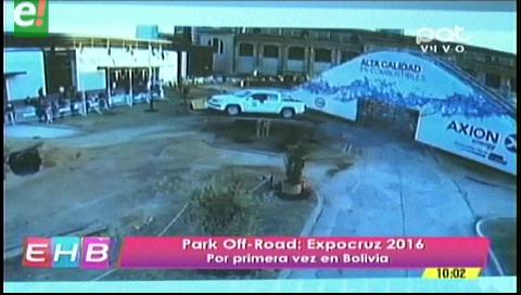 Park Off-Road en Expocruz 2016