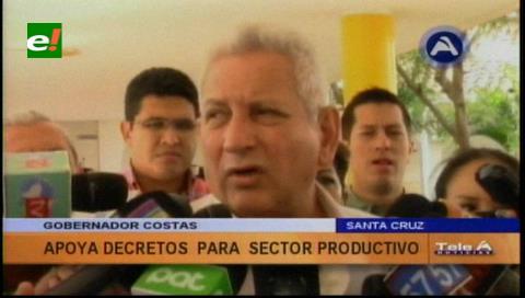 Gobernador Costas pondera decretos para el agro y pide que se aplique la biotecnología