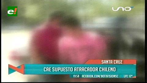 Cae supuesto atracador chileno